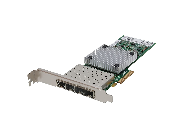 LevelOne Tarjeta de Red PCIe de Fibra de Gigabits, Quad SFP ...