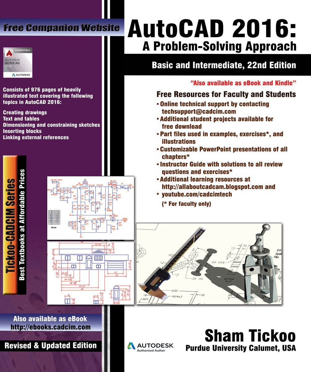 autocad-2016-a-problem-solving-approach-basic-and-intermediate