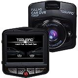 toguard Full HD 1080p 12MP voiture Boîte noire DVR enregistreur caméra de voiture avec objectif grand angle Support Capteur Détection de Mouvement Vision nocturne sortie HDMI enregistrement en boucle accéléromètre (5,1cm FHD 1080p)