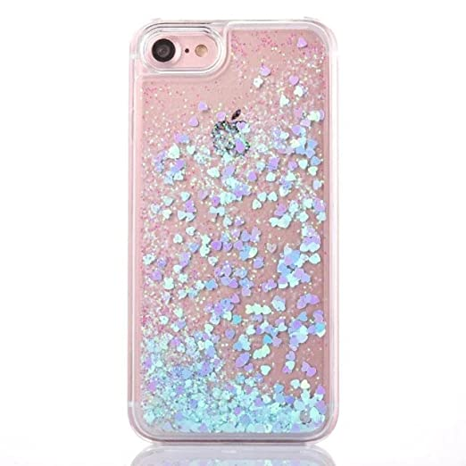 info for 83cfa 33554 iPhone 6s Phone Case 4.7'' Liquid Glitter Quicksand Heart Case Crystal Soft  Case Cover