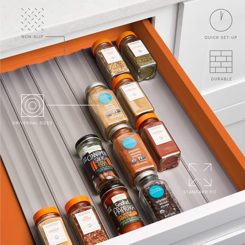 Amazon.com: SpiceLiner Organizador de especias para cajones ...
