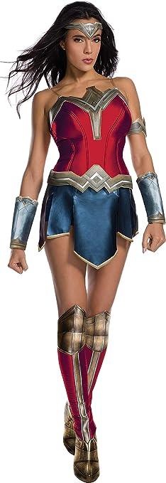 Rubie/'s Wonder Woman Adult Large 2 Piece Top Halloween Costume NEW BJ