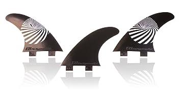 QUILLA Surf FCS Compatible Tri-Set A2 Composite 50% Fibra DE Vidrio. Sistema