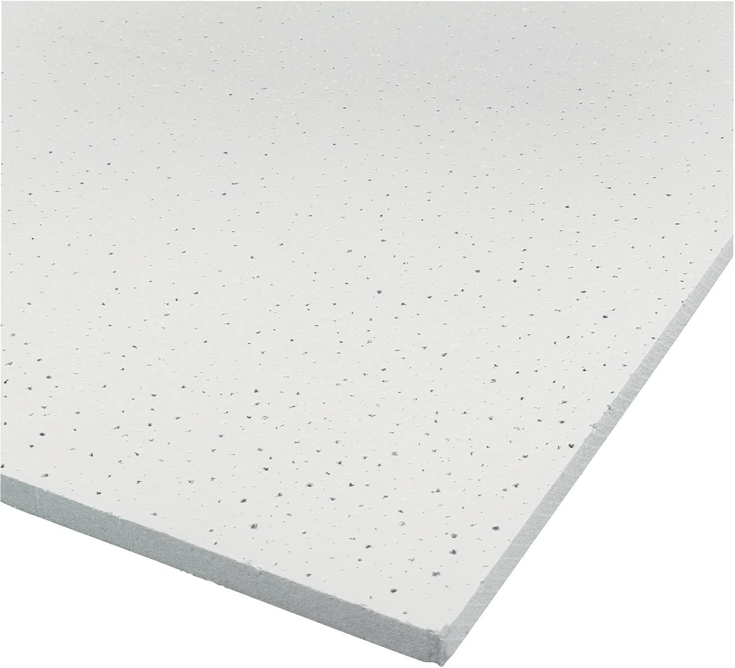 Carton of 10 Genesis Easy Installation Printed Pro Lay-in White Ceiling Tile//Ceiling Panel 2 x 4 Tile