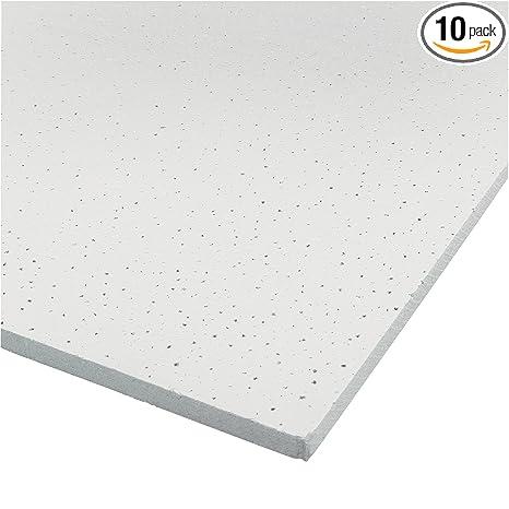 Prime Line Mp60000 Ceiling Tile 2 X 4 Ft Square Edge Panel