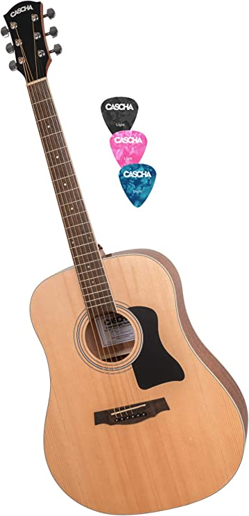 CASCHA Guitarra Occidental, Forma Dreadnought, Guitarra Acústica ...