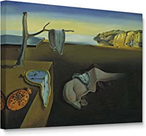 Niwo ART - Persistence of Memory, World's Most Famous Paintings Series, Canvas Wall Art Home Decor, Gallery Wrapped, Stretched, Framed Ready to Hang (16