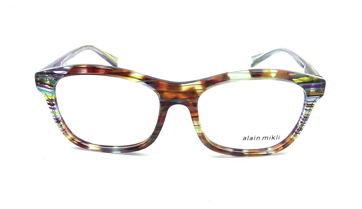 3bb9d6ad0f5 Alain Mikli Rx Eyeglasses Frames A03068 E412 53-16-140 Multicolored Wires  Italy  Amazon.ca  Clothing   Accessories