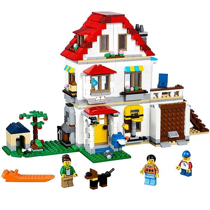Top 9 Lego Modular Family Home