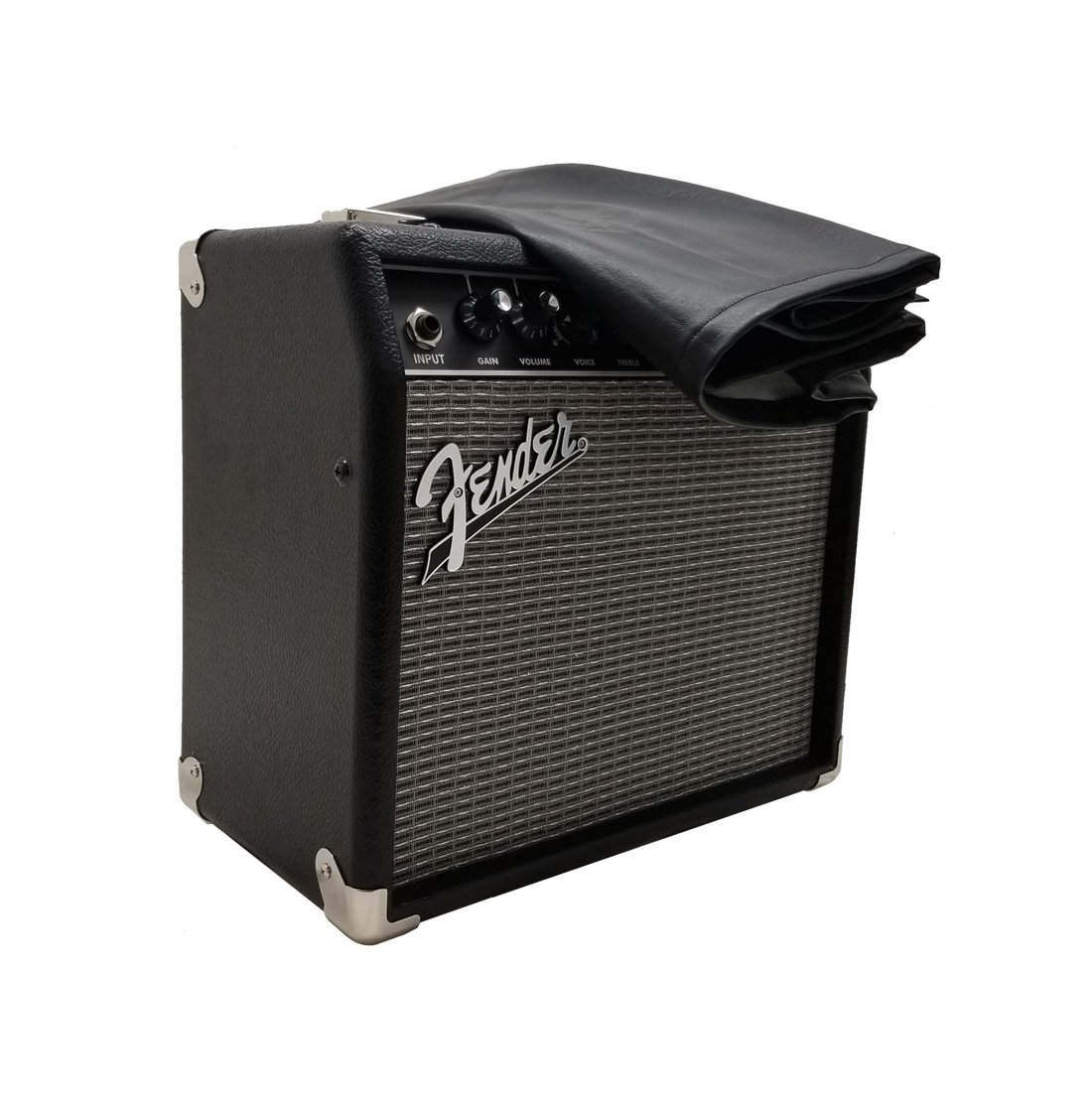 Fender Rumble 40 Guitar Amplifier Dust Covers by DCFY | Prem. Synth. Leather - Padded
