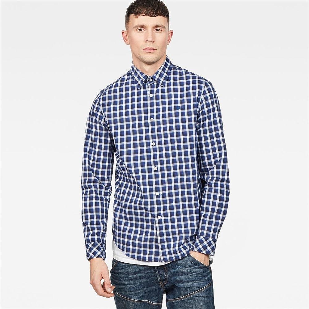 G-STAR RAW Core Straight Shirt L/S Camisa para Hombre: Amazon.es: Ropa y accesorios
