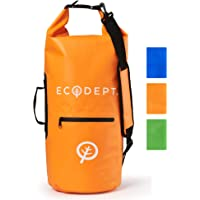 ECOdept Dry Bags Waterproof Dry Bag Backpack ~ 2 Shoulder Straps ~ 20L/30L/40L ~ for Travel, Kayaking, Boating, Swimming and All Watersports