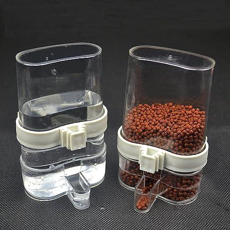 2 pack Alimentador automático de agua de ave Pet Alimentador de ...