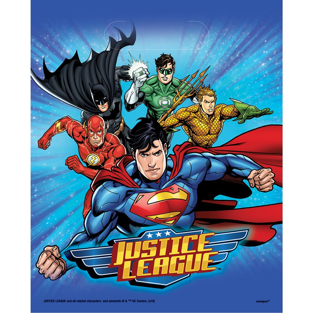 6.5ft Justice League Birthday Banner