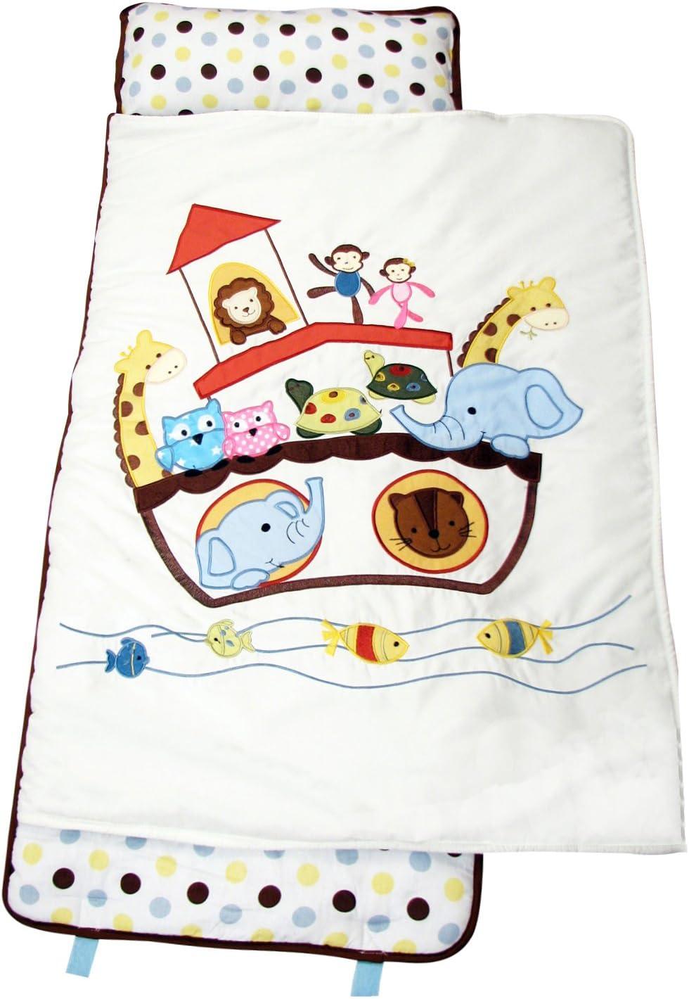 SoHo Toddler Nap Mat Rollable Colorful Noah Ark