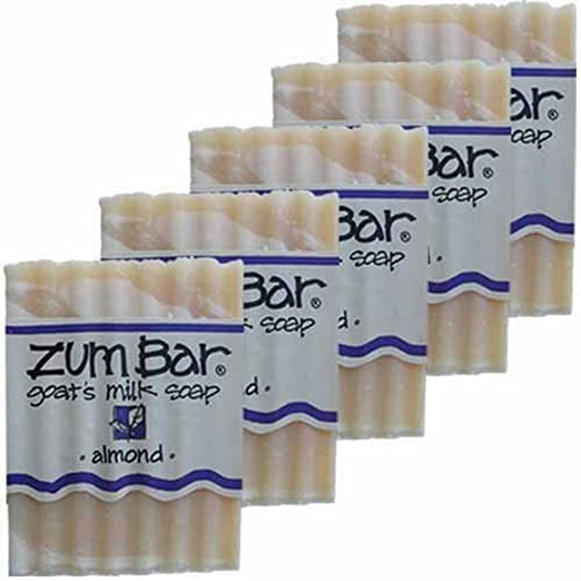 Zum Bar Goat'S Milk Soap, Almond 3 Oz Bar