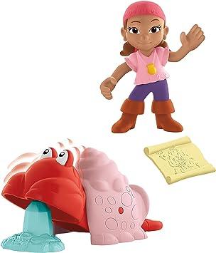 Jake y los Piratas - Pack con Figuras y Accesorios, Lzzy (Mattel ...