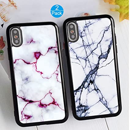 Amazon.com: iPhone X/10 pareja funda carcasa única moda ...
