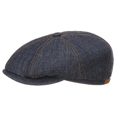 1f2b7fe3a51 Fairbank Denim Flat Cap Stetson jeans cap cotton cap (54 cm - denim ...