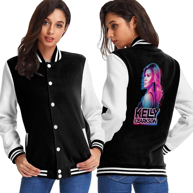 Kelly Clarkson Baseball Uniform Vintage Jacket Unisex Coat Autumn Winter Warmth Sweatshirt