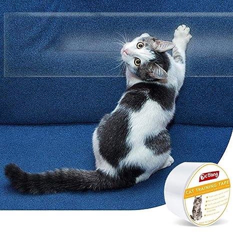 Cinta antiarañazos del sofá del sofá de la Cinta del Gato Cintas de la protección del rasguño Cinta del Entrenamiento del Gato del Animal doméstico ...