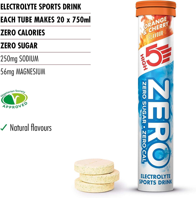 HIGH5 ZERO Pastillas de Hidratación por Electrolitos con ...