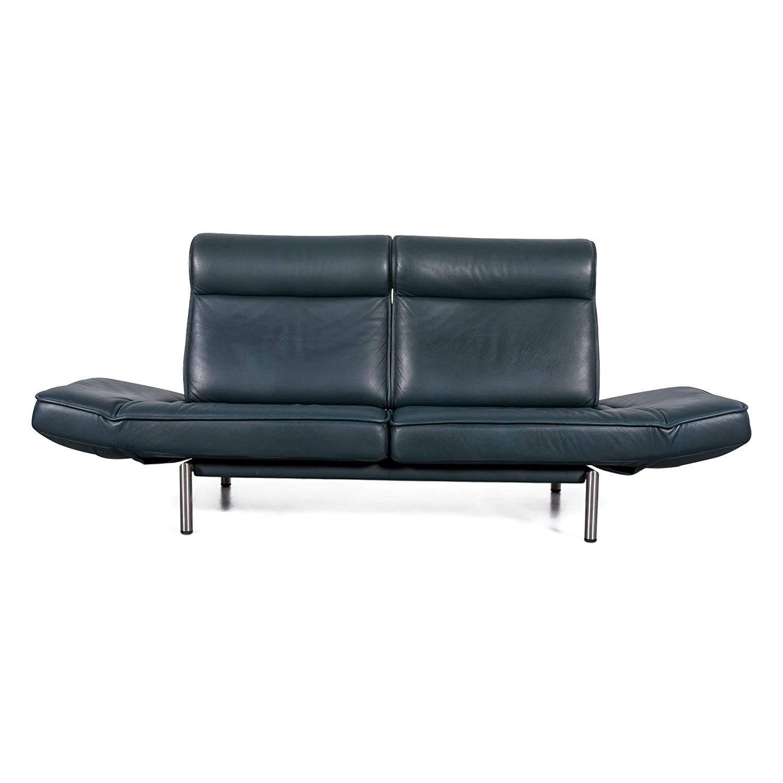 Amazon.com: de Sede DS 450 Designer Leder Sofa Grün Dunkel ...