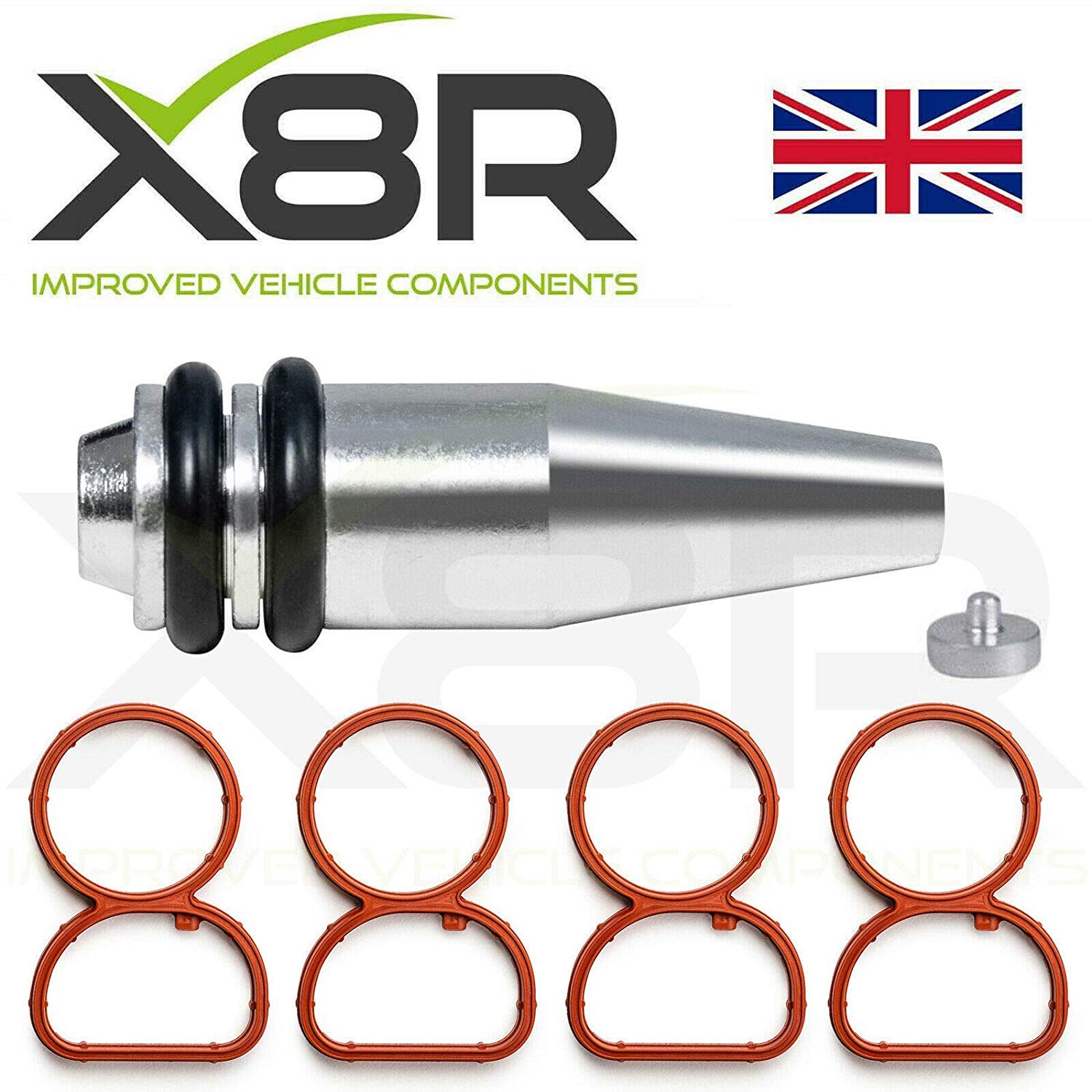 6x 22 mm Swirl Flap Replacement Blanks Delete Plug Removal Fix for BMW M47 M57
