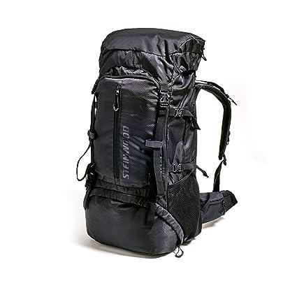 sehr bequem kostenloser Versand überlegene Leistung Steinwood Trekkingrucksack 70L - Backpacker-Rucksack Outdoor-Rucksack  Wanderrucksack wasserabweisend mit Regenhülle