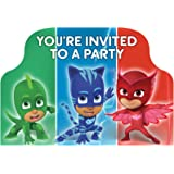 PJ Masks Invitations (8 ct)