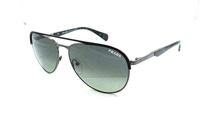 Amazon.com: Prada anteojos de sol SPR 51Q gaq-2d0 59 x 16 ...