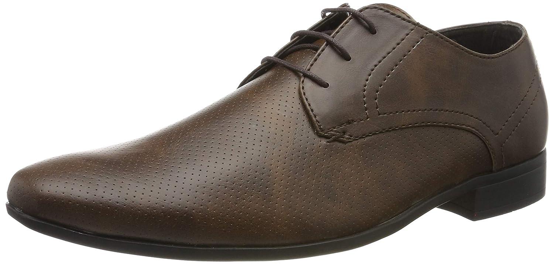 TALLA 41.5 EU. Burton Menswear London Rees, Zapatos de Cordones Derby para Hombre