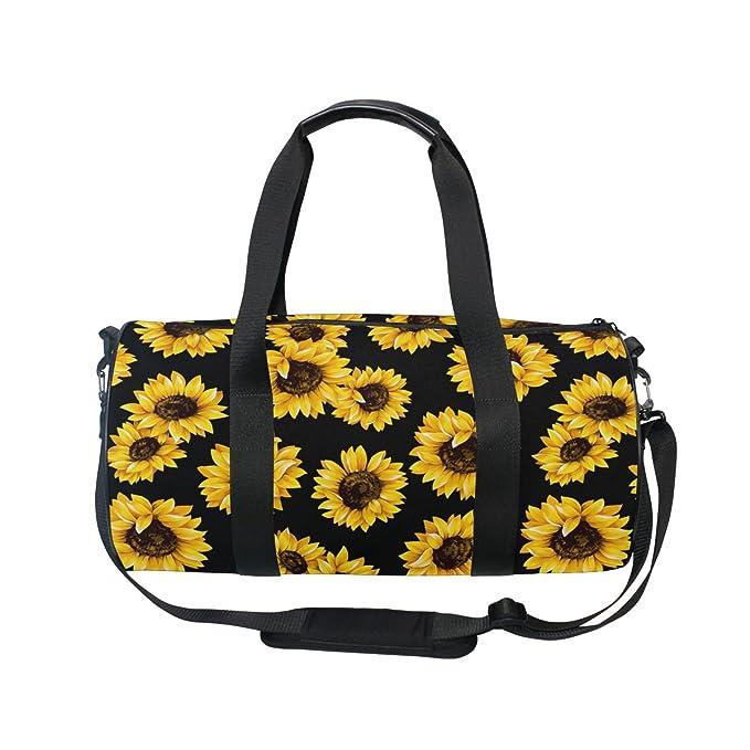 Amazon.com: ALAZA elegante amarillo girasol deportes ...