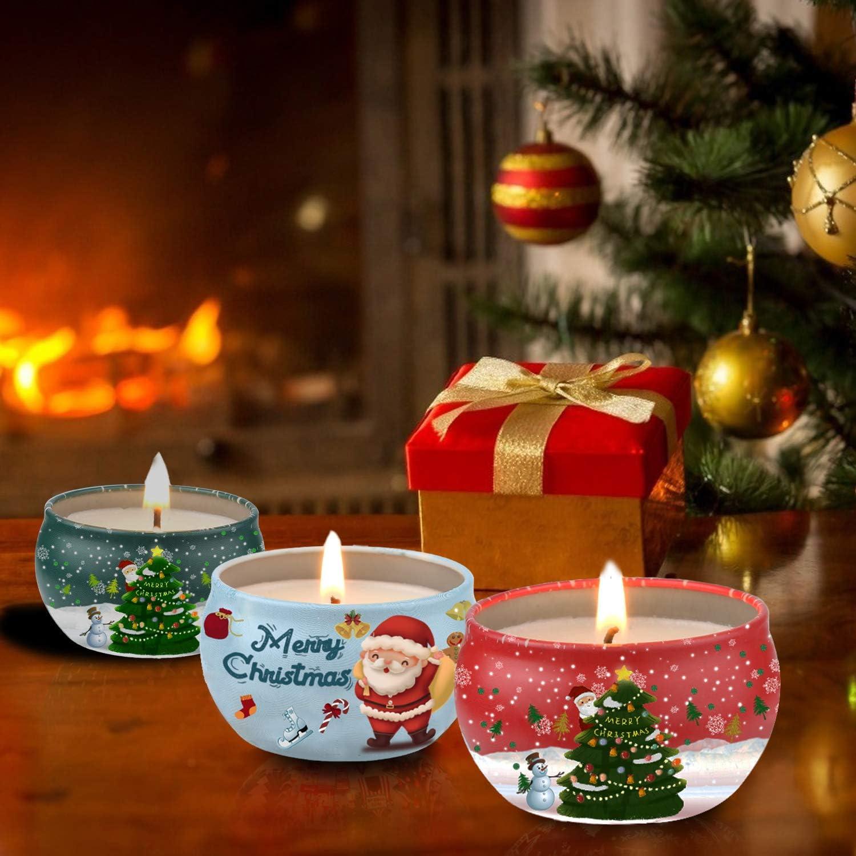 McNory 12 Piezas Regalo de Velas Perfumadas,Cera de Soja Natural,Velas Aromaticas,Aromaterapia Decoraci/ón para Relajaci/ón Fiesta Boda Ba/ño Yoga Cumplea/ños Navidad D/ía de San Valent/ín Regalos