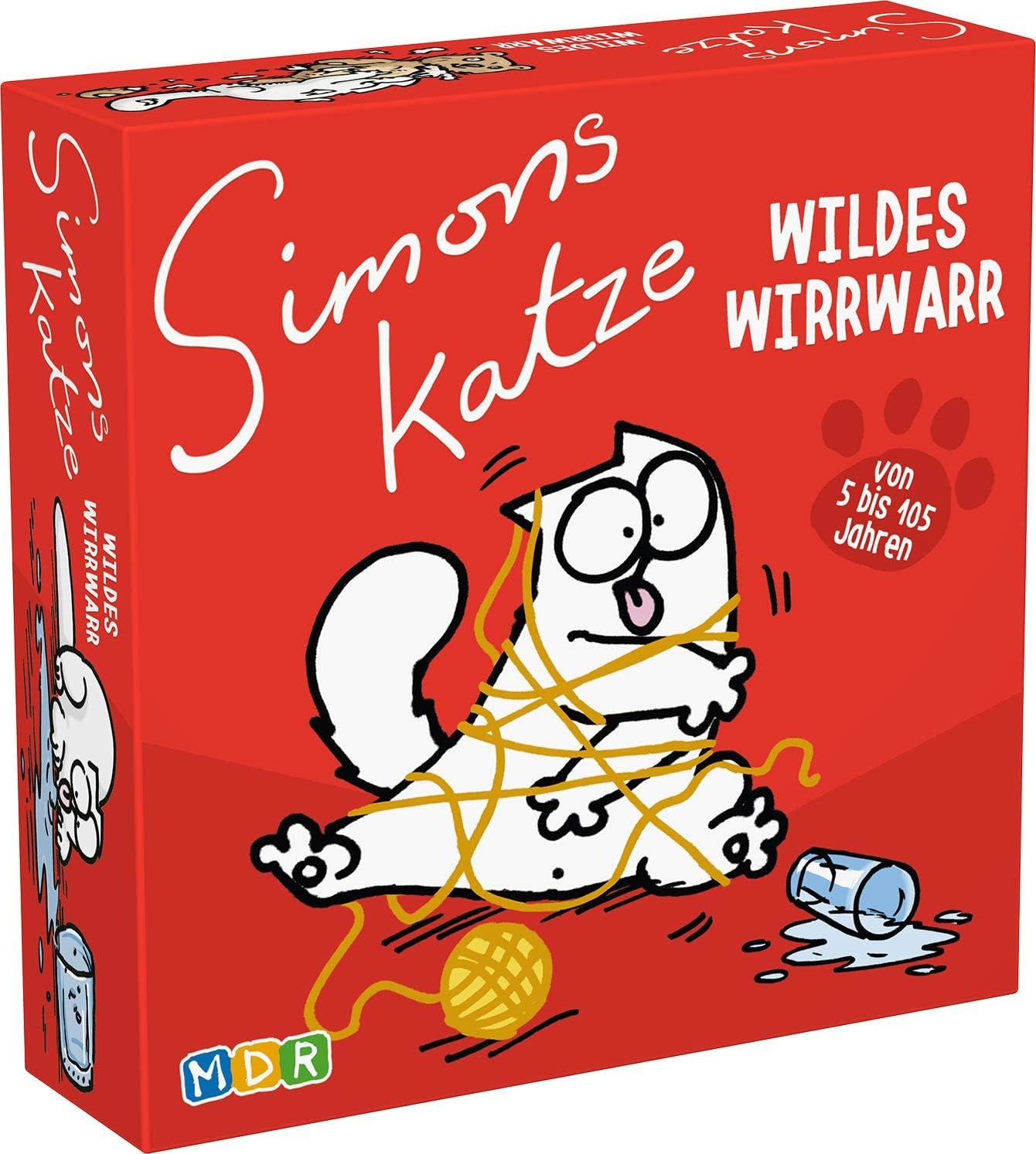 Simons Cat - Wildes Wirrwarr Kartenspiele