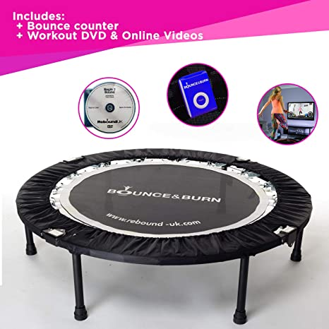 Maximus Life Bounce & Burn - Mini cama elástica plegable para ...
