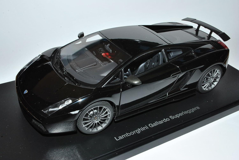 Lamborghini Gallardo Superleggera Schwarz 2007 74582 1/18 AutoArt Modell Auto