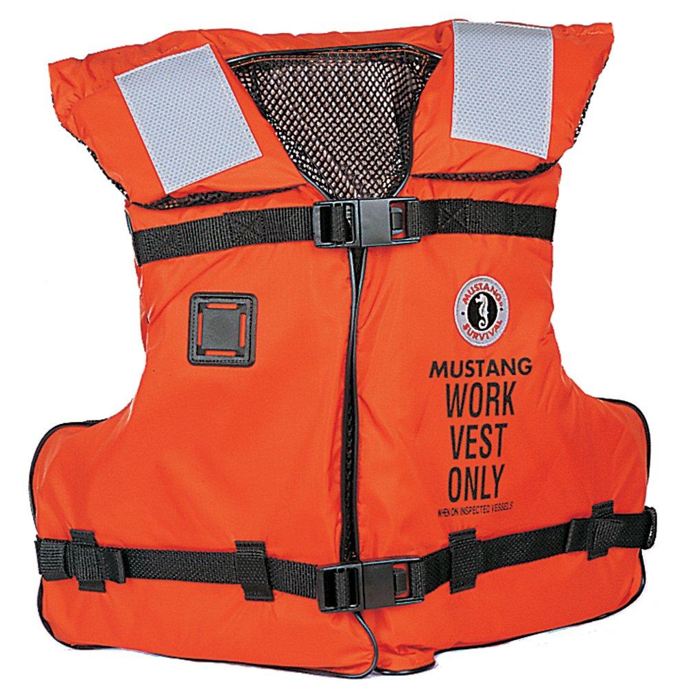 mv3192 – Mustang Work Vest w / SOLASテープ   B01156GBZA