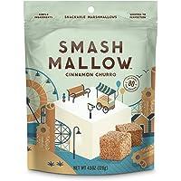 Smash Mallow Snackable Marshmallows Pack 4.5oz (Cinnamon Churro)