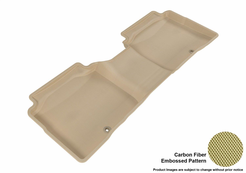 Tan Kagu Rubber 3D MAXpider Front Row Custom Fit All-Weather Floor Mat for Select Kia Optima Models