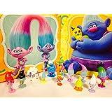 DreamWorks Trolls Cake/Cupcake Toppers Figure Set or 12