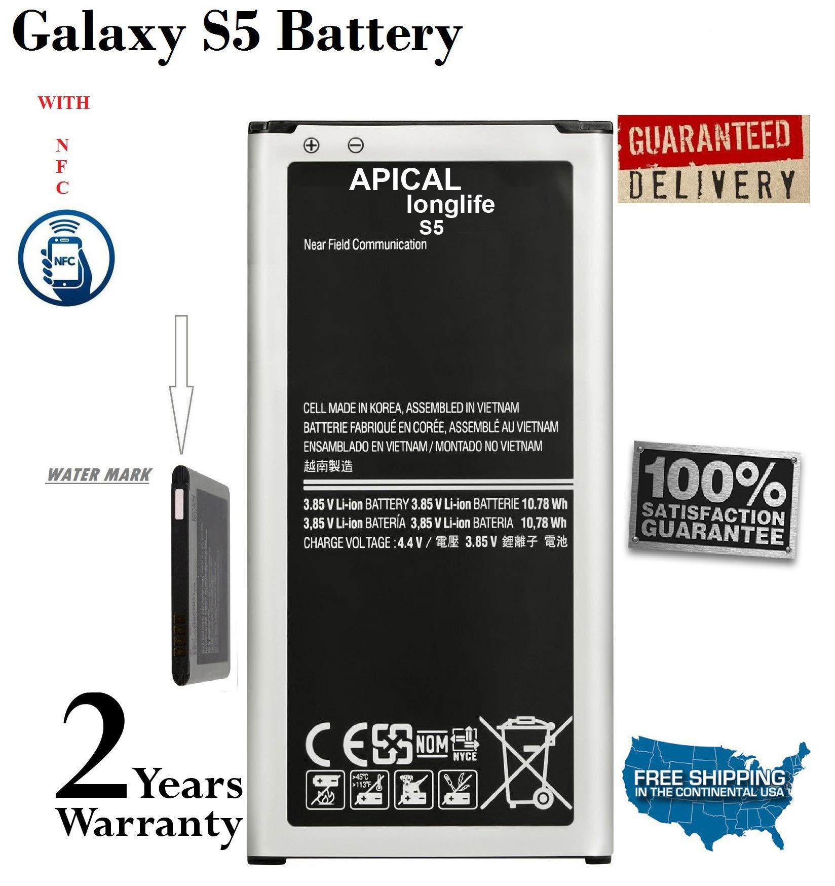 Bateria Celular LONGLIFE Galaxy S5 2800mAh para Galaxy S5 SM G900F SM G900H SM G900A AT&T SM G900TR SM G900P Sprint SM G