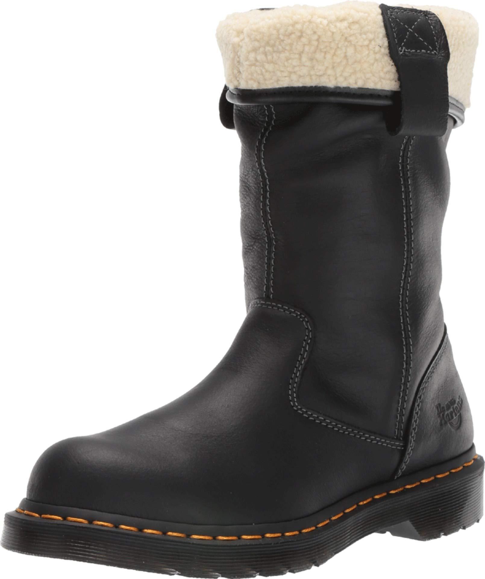 Dr. Martens - Women's Belsay ST Light Industry Boots, Black, 9 US by Dr. Martens