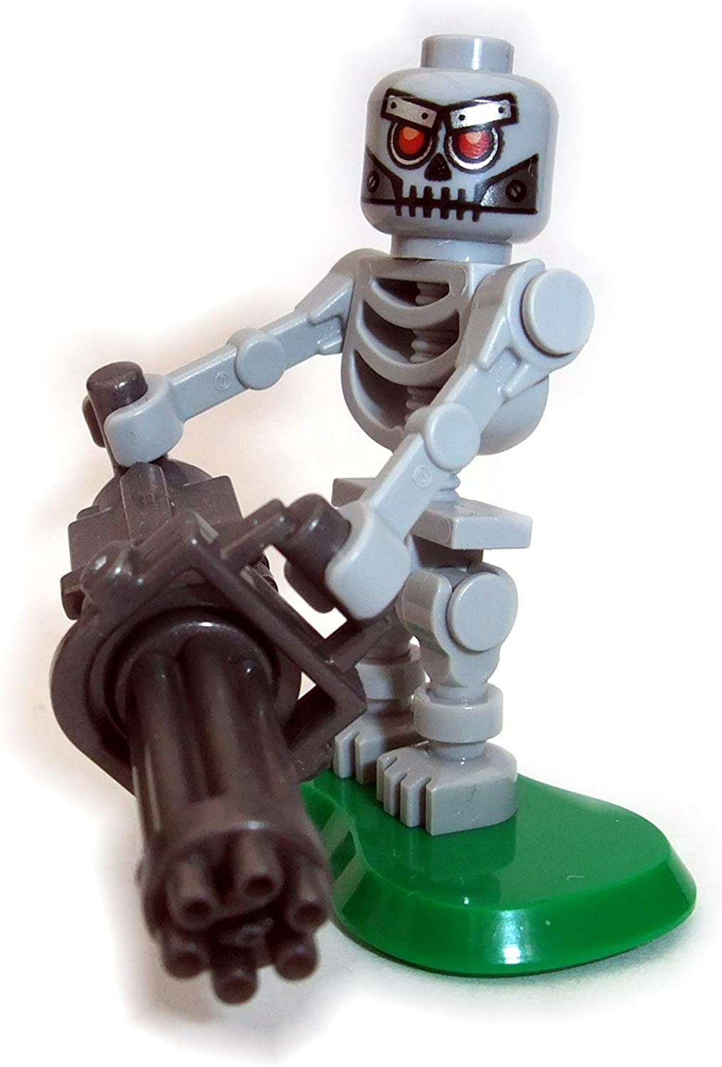 LEGO TERMINATOR MACHINE GAMING MINIFIGURE FIGURE ROBOT MADE OF GENUINE LEGO