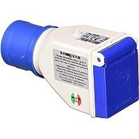 WOLFPACK LINEA PROFESIONAL 19010550 Adaptador Industrial Cetac Schuko Simple 2p Con Tapa