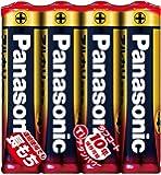 パナソニック 単4形アルカリ乾電池 4本パック LR03XJ/4SE