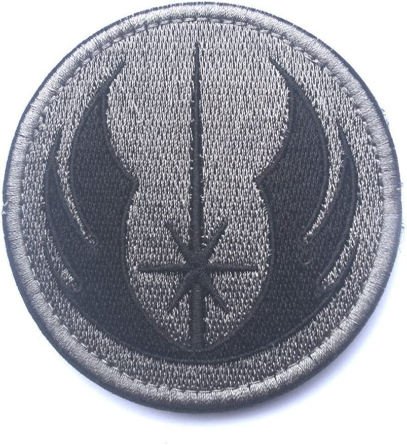 Star Wars Jedi Order Uniform Iron-on Logo Embroidered Patch// Shorts Badge