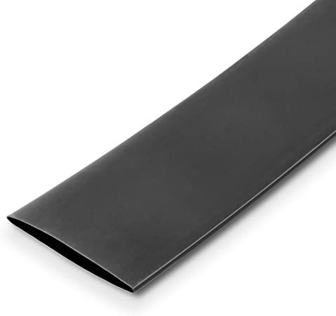0 6 Mm Innendurchmesser 1000 Cm Länge Schrumpfschlauch Ul Schwarz 2 1 Schrumpfung Baumarkt