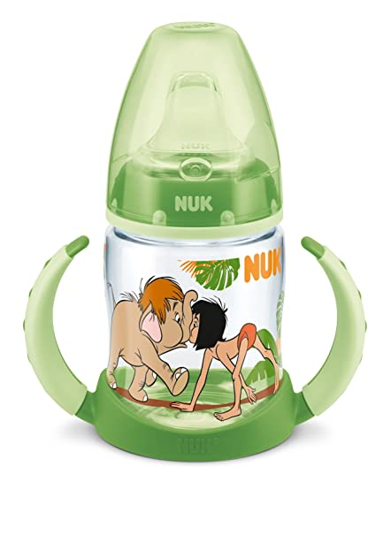 NUK First Choice Disney botella de libro de la selva 150 ml, con ...