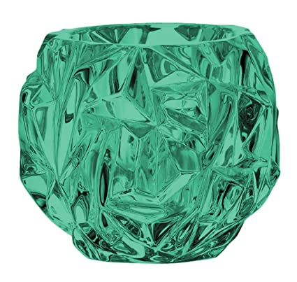 888b655170fd Image Unavailable. Image not available for. Color  Beautiful Tiffany   Co  Crystal Rock Cut Votive Candle Holder - Full ...